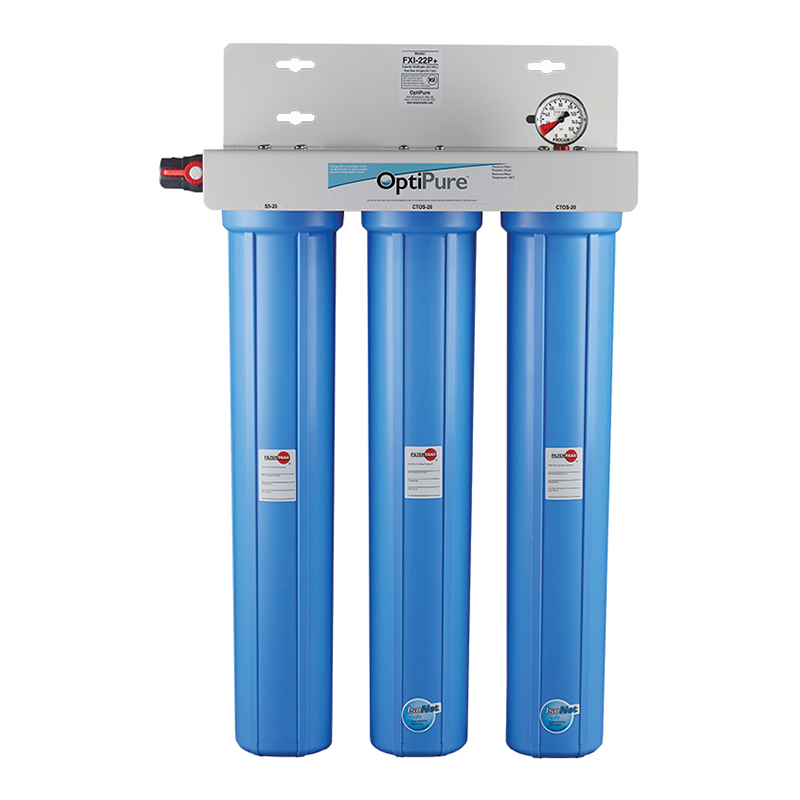 OptiPure FXI-22P water filtration system, for ice machines