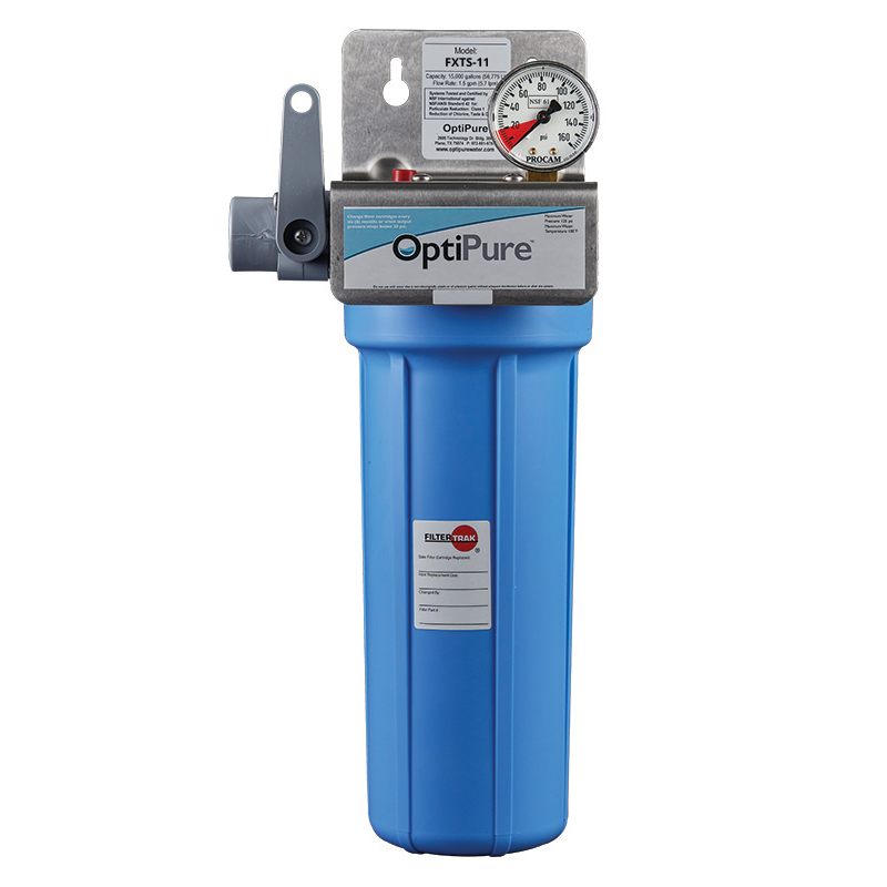 OptiPure FXTS-11 water filtration system, for ice machines
