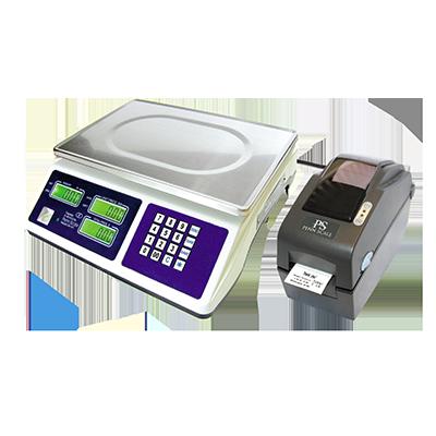Penn Scale PSSLP22 printer, label