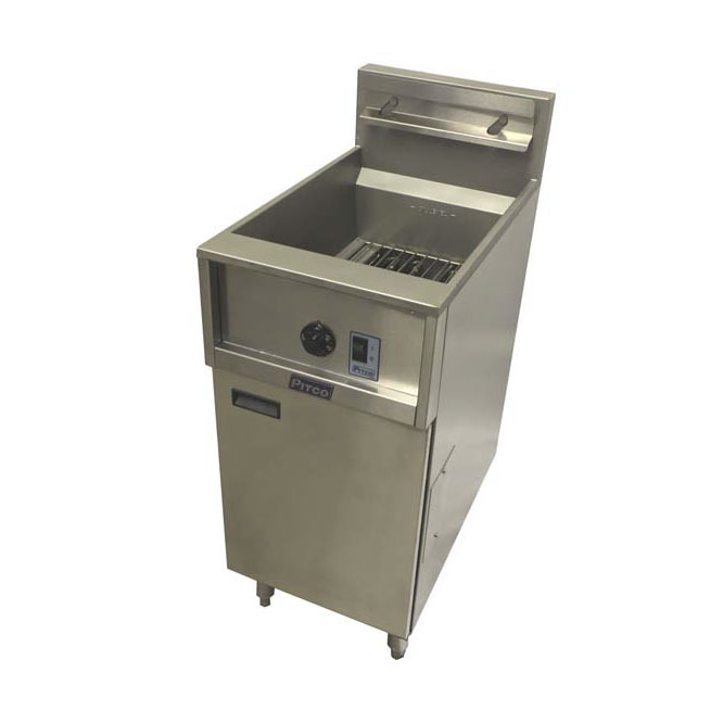 Pitco Frialator E35 fryer, electric, floor model, full pot