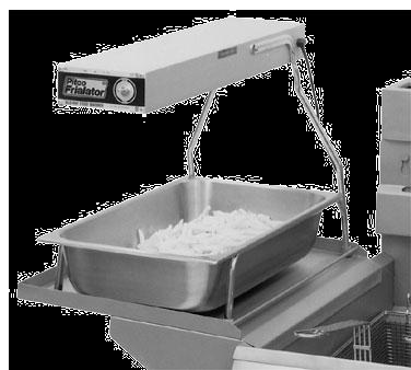 Pitco Frialator PFW-2 heat lamp, strip type