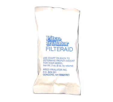 Pitco Frialator PP10733 fryer filter powder