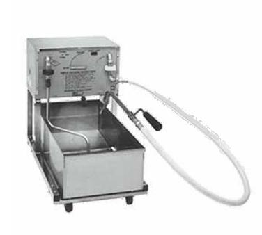 Pitco Frialator RP14 fryer filter, mobile