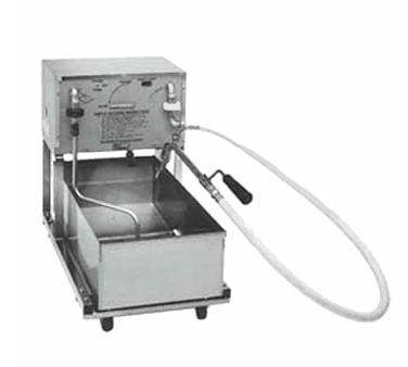 Pitco Frialator RP18 fryer filter, mobile