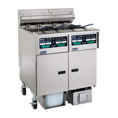 Pitco Frialator SELV14C-4/FD fryer, electric, multiple battery