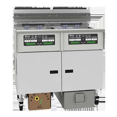 Pitco Frialator SELV184-C/FD fryer, electric, floor model, full pot