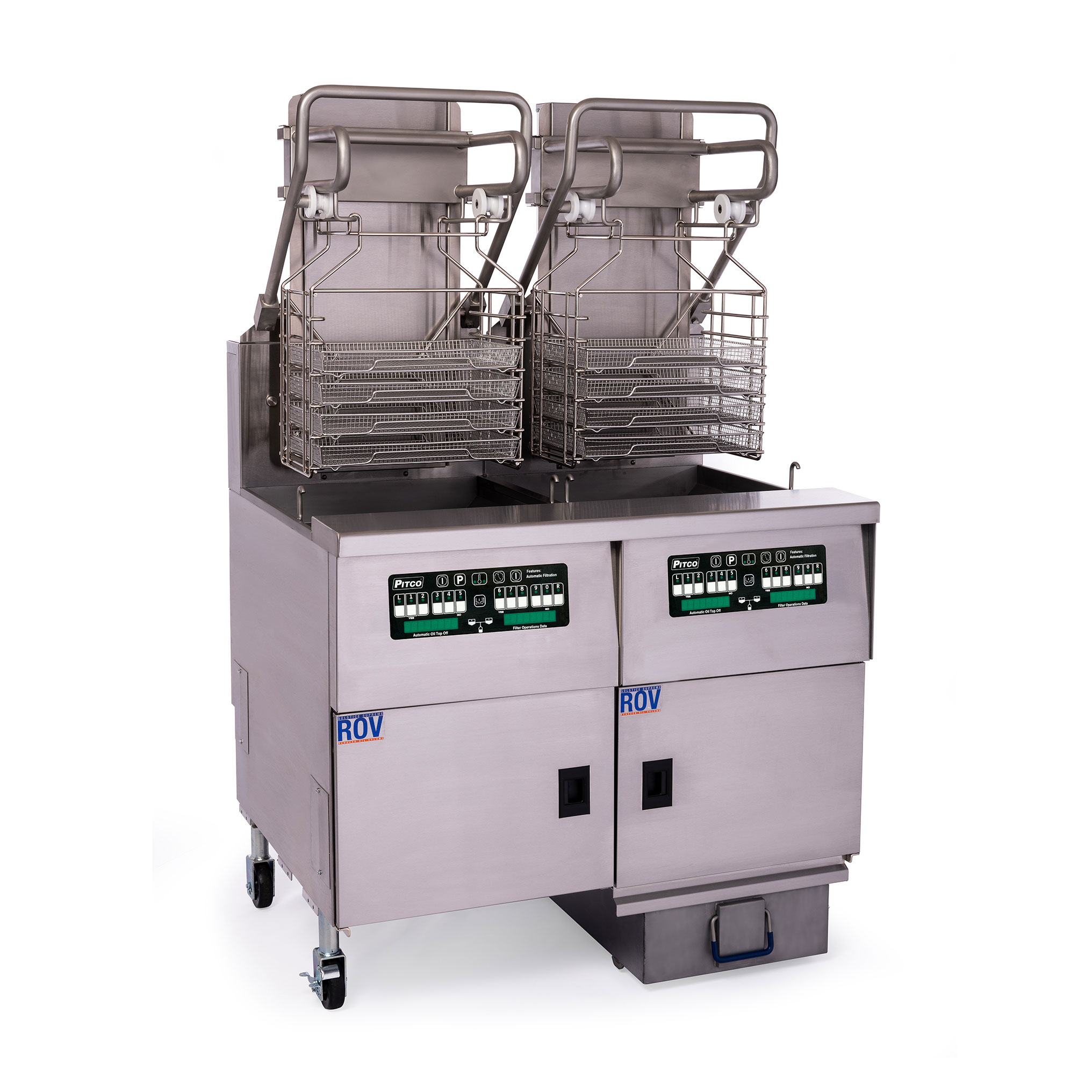 Pitco Frialator SELVRF-2/FD fryer, electric, multiple battery
