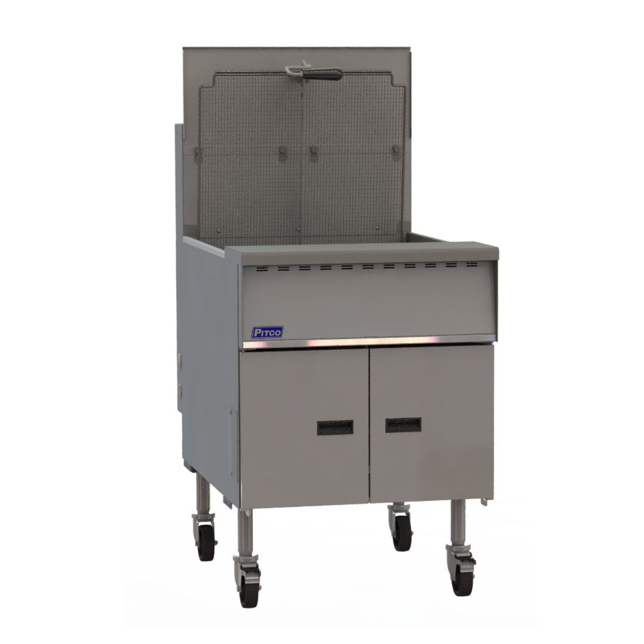 Pitco Frialator SGM24 fryer, gas, floor model, full pot