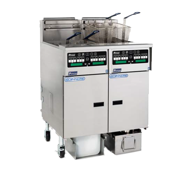 Pitco Frialator SSHLV14C-2/FD fryer, gas, multiple battery