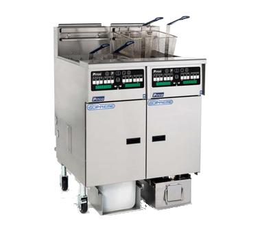 Pitco Frialator SSHLV14C-3/FD fryer, gas, multiple battery