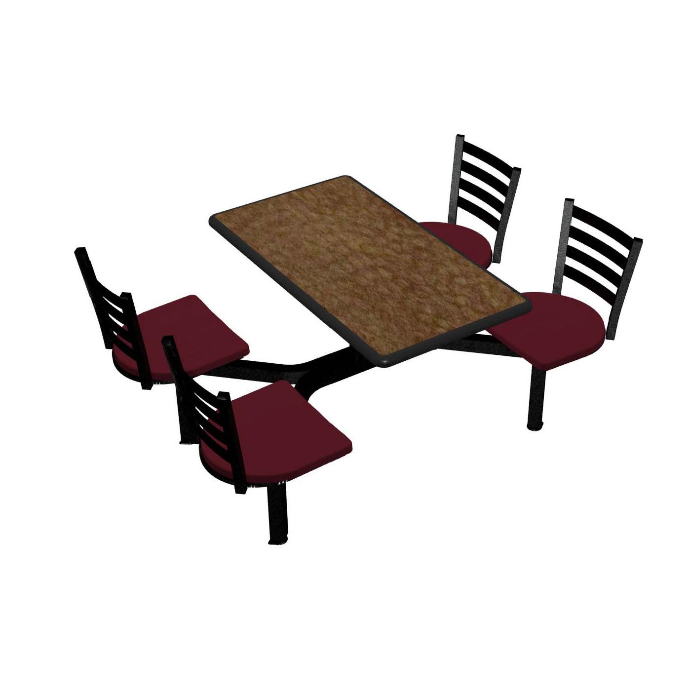 Plymold CEIS004DEEN cluster seating unit, indoor