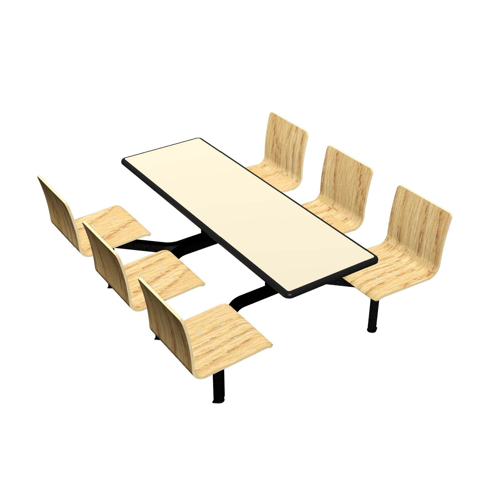 Plymold CEIS006DELE cluster seating unit, indoor