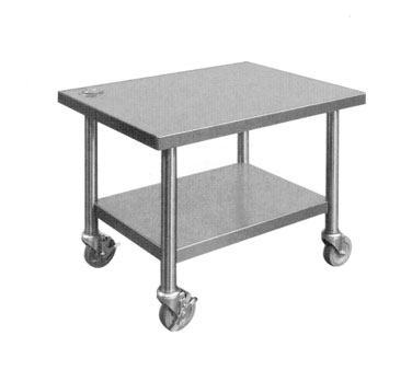 Piper Products/Servolift Eastern 121-23-29TSS equipment stand, for mixer / slicer