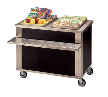 Piper Products/Servolift Eastern 2-CU serving counter, beverage
