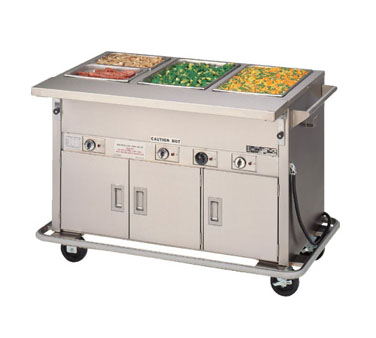 Piper Products/Servolift Eastern 2-HF-HIB serving counter, hot food, electric
