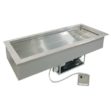 Piper Products/Servolift Eastern 4-HCMDI hot / cold food well unit, drop-in, electric