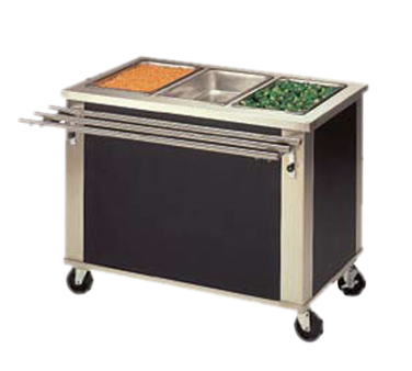 Piper Products/Servolift Eastern 4-HF serving counter, hot food, electric