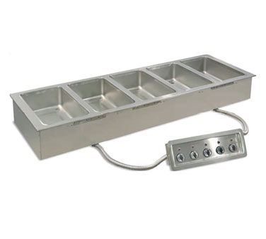 Piper Products/Servolift Eastern 5HFW-1DM hot food well unit, drop-in, electric