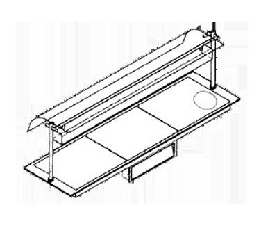 Piper Products/Servolift Eastern D240160 heated shelf food warmer