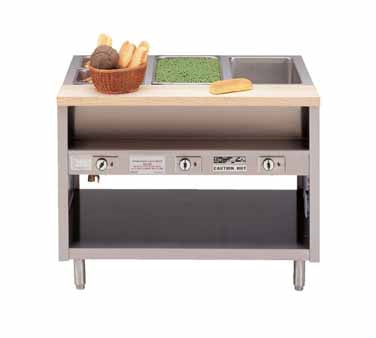Piper Products/Servolift Eastern DME-4-DS serving counter, hot food, electric