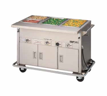 Piper Products/Servolift Eastern DME-4-PTSB serving counter, hot food, electric