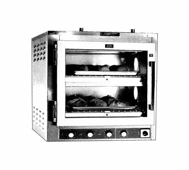 Piper Products/Servolift Eastern DO-2H-CT oven, deck-type, electric