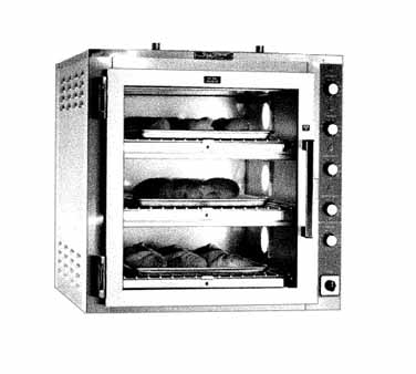 Piper Products/Servolift Eastern DO-3-CT oven, deck-type, electric