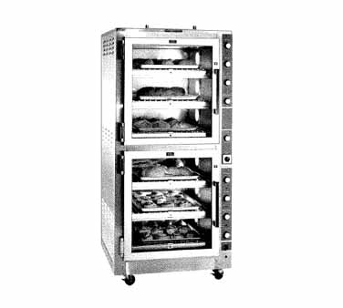 Piper Products/Servolift Eastern DO-6 oven, deck-type, electric