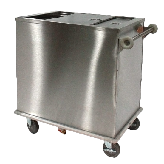 Piper Products/Servolift Eastern ICE-3 ice bin / ice caddy , mobile