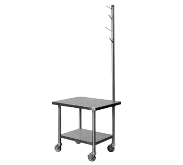 Piper Products/Servolift Eastern MX-29-TSS equipment stand, for mixer / slicer