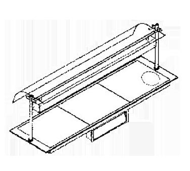 Piper Products/Servolift Eastern ND16050-OHD4-HS heated shelf food warmer