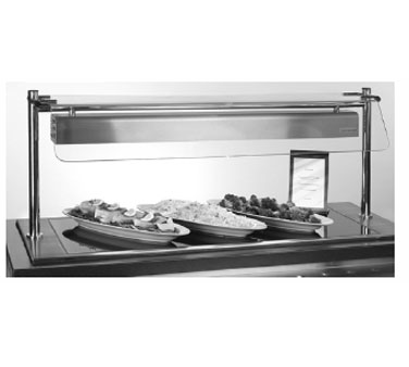 Piper Products/Servolift Eastern ND17060-OHD4-HS heated shelf food warmer