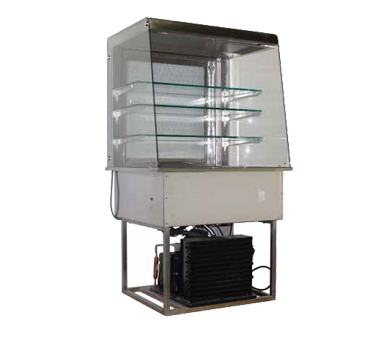 Piper Products/Servolift Eastern OTR-2 refrigerated merchandiser, drop-in