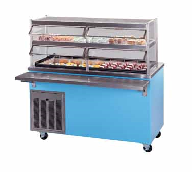 Piper Products/Servolift Eastern R3-FT serving counter, frost top