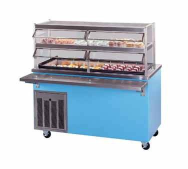 Piper Products/Servolift Eastern R4-FT serving counter, frost top