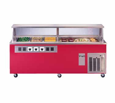 Piper Products/Servolift Eastern R4H-2CI serving counter, hot & cold