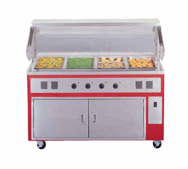 Piper Products/Servolift Eastern R4-HF serving counter, hot food, electric
