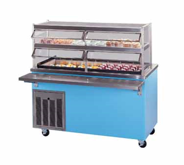 Piper Products/Servolift Eastern R6-CB serving counter, cold food