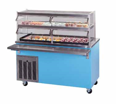 Piper Products/Servolift Eastern R6-CM serving counter, cold food