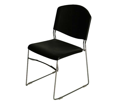 PS Furniture PC500-CH-BL-S chair, side, stacking, indoor