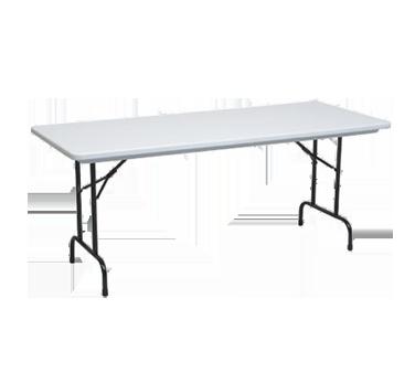 PS Furniture PT1872-PL folding table, rectangle