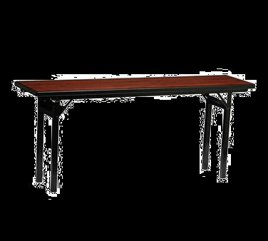 PS Furniture REV3696MXE-SQ folding table, rectangle