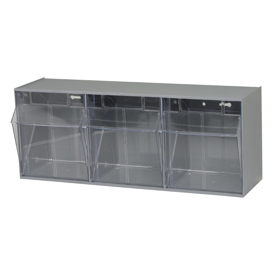 Quantum Foodservice QTB303GY condiment organizer bin rack