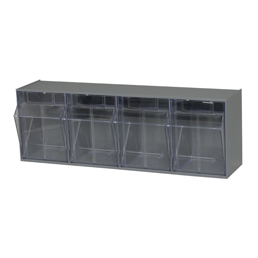 Quantum Foodservice QTB304GY condiment organizer bin rack