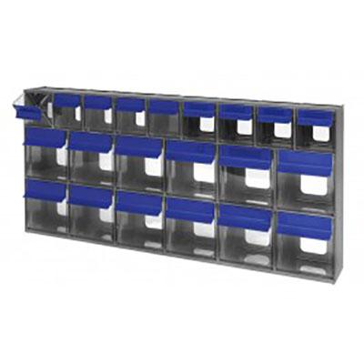 Quantum Foodservice QTB669GY condiment organizer bin rack
