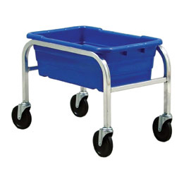 Quantum Foodservice TR1-2516-8BL bus box / tub storage rack / cart