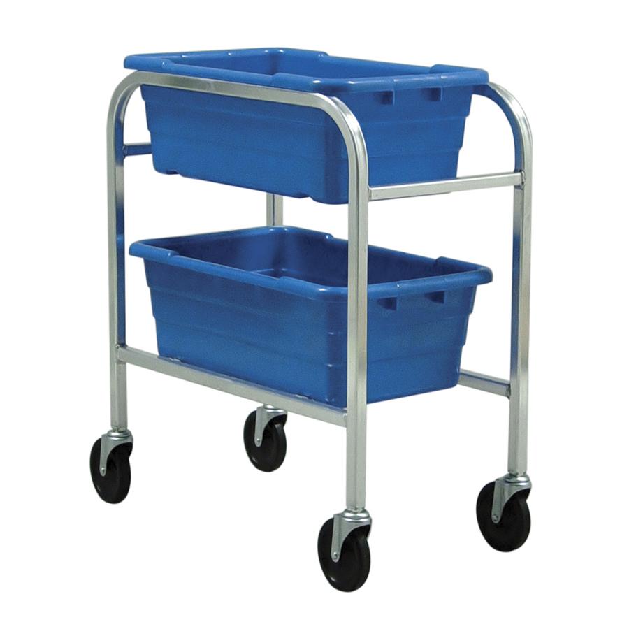 Quantum Foodservice TR2-2516-8BL bus box / tub storage rack / cart