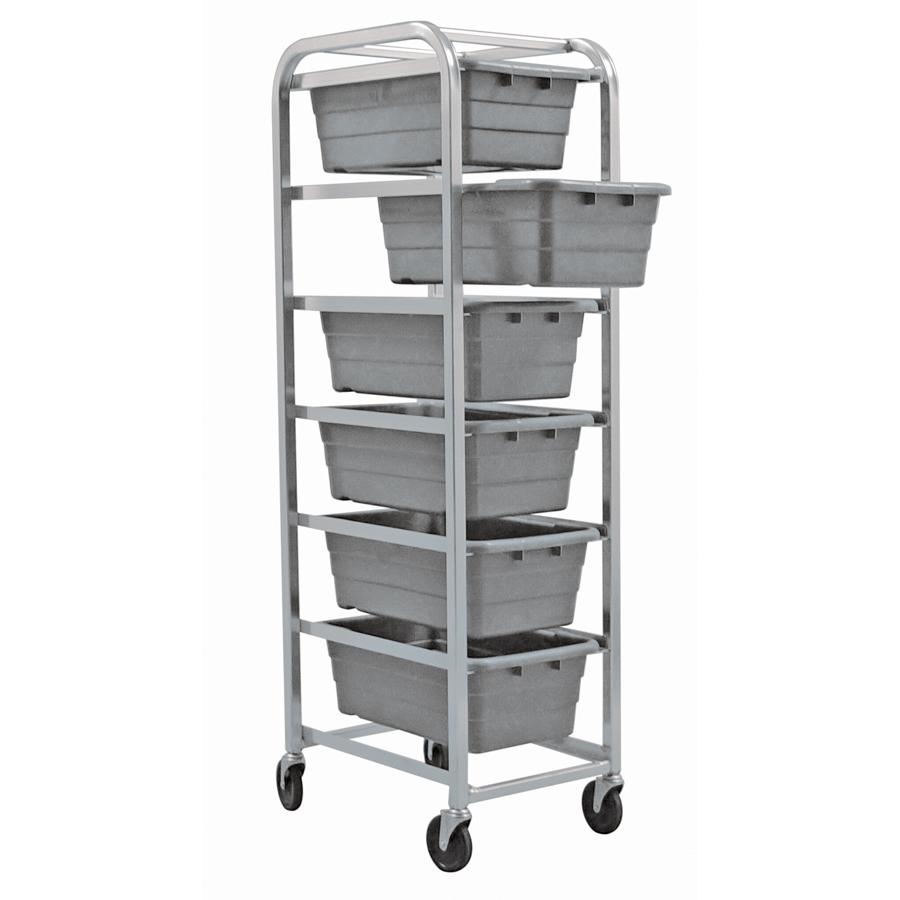 Quantum Foodservice TR6-2516-8GY bus box / tub storage rack / cart