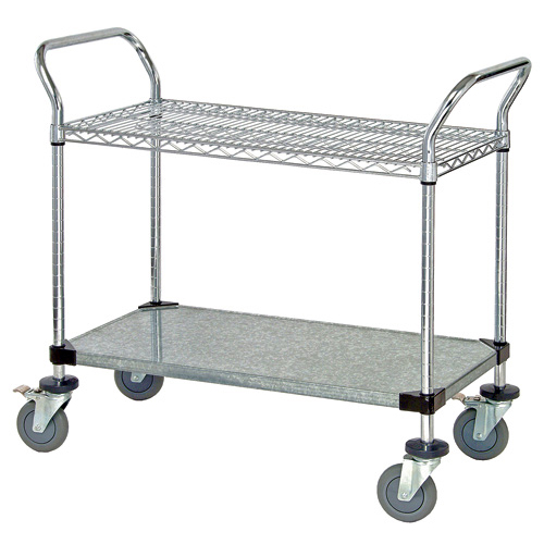 Quantum Foodservice WRSC-1842-2 cart, bussing utility transport