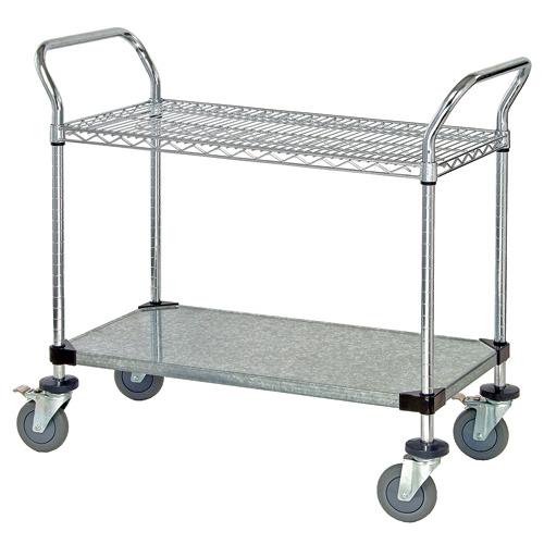 Quantum Foodservice WRSC-1842-2 cart, bussing utility transport